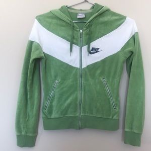 Women's Nike Zip Up Hoodie Size Small